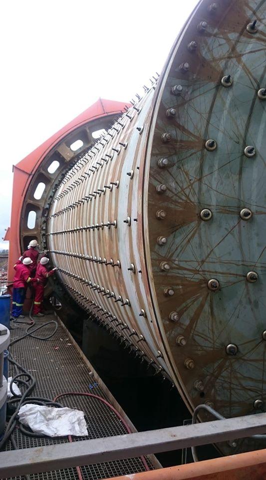 Rollex-mining-construction-mill-relining
